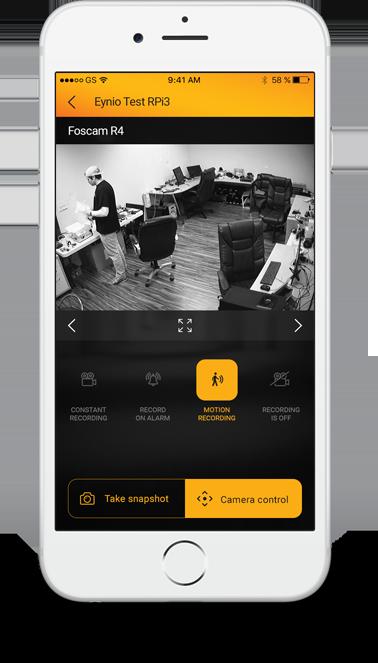 Eynio Vision iOS
